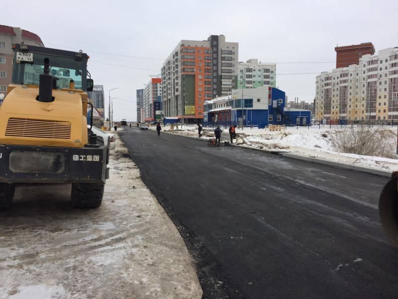 Асфальтирование дорог в Москве