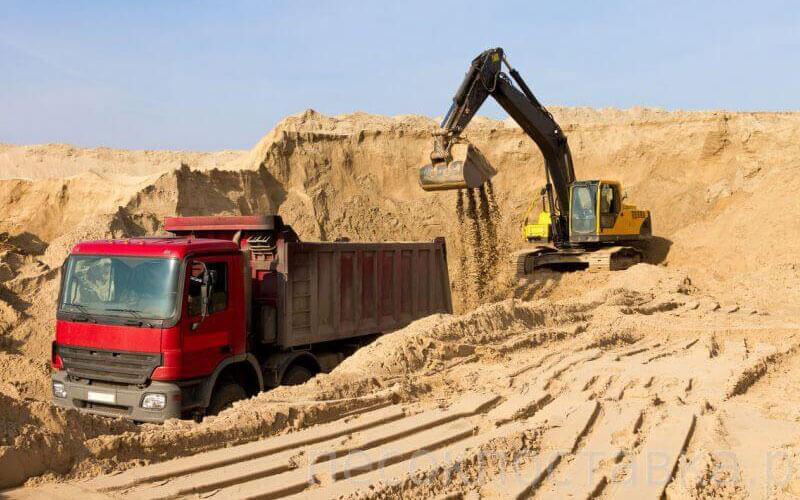 Песок с доставкой в Москве